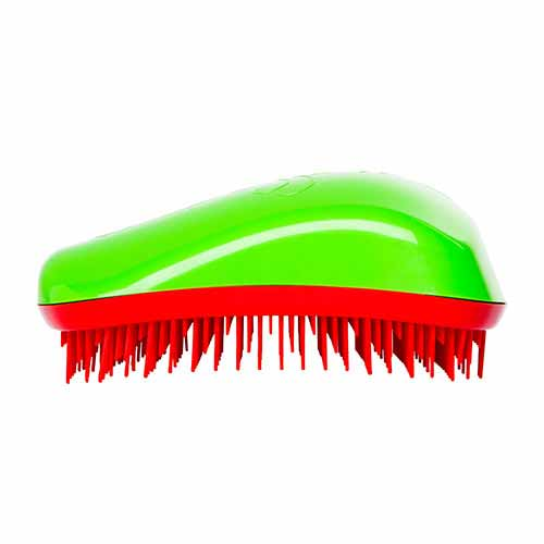 Четка за коса Dessata Зелено / Череша