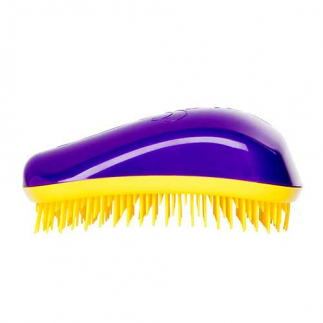 Четка за коса Dessata Лилаво / Жълто