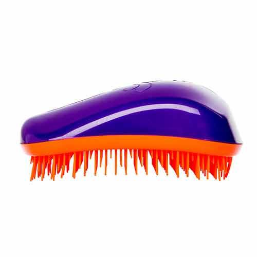 Четка за коса Dessata Лилаво / Мандарина