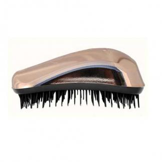 Четка за гъста коса Dessata Bright  Розово злато / Метално черно
