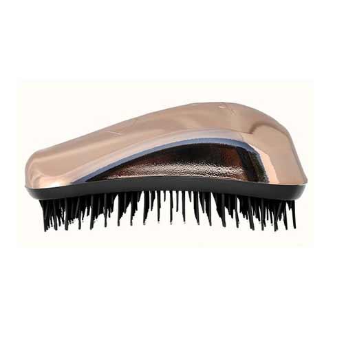 Четка за коса Dessata Bright  Розово злато / Метално черно