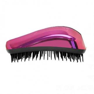 Четка за гъста коса Dessata Bright  Фуксия / Метално Черно