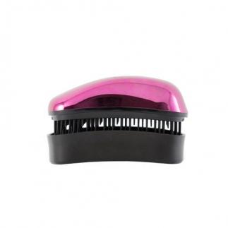 Mini Четка за коса Dessata Bright Фуксия / Метално Черно