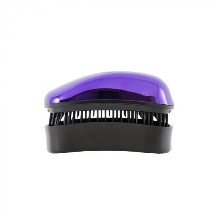 Mini Четка за коса Dessata Bright Лилаво / Метално Черно