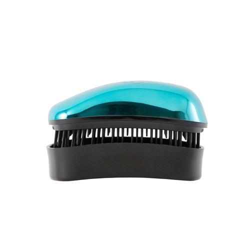 Mini Четка за коса Dessata Bright Тюркоаз / Метално Черно