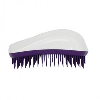 Четка за гъста коса Dessata Maxi Бяло / Лилаво