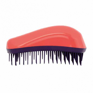 Неонова четка за гъста коса Dessata Maxi Корал / Лилаво