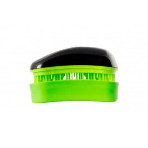 Мини четка за коса Dessata Mini Черно / Лайм