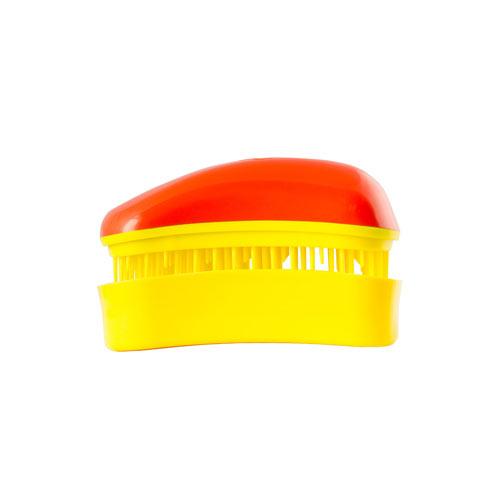Мини четка за коса Dessata Mini Портокал  / Жълто