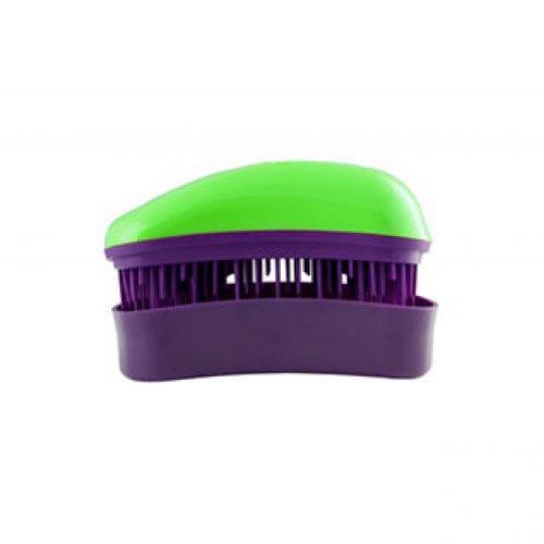 Мини четка за коса Dessata Mini Зелено / Лилаво
