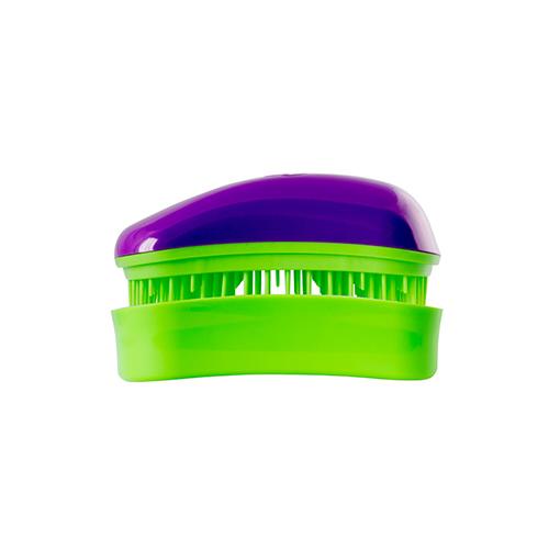 Мини четка за коса Dessata Mini Лилаво / Лайм
