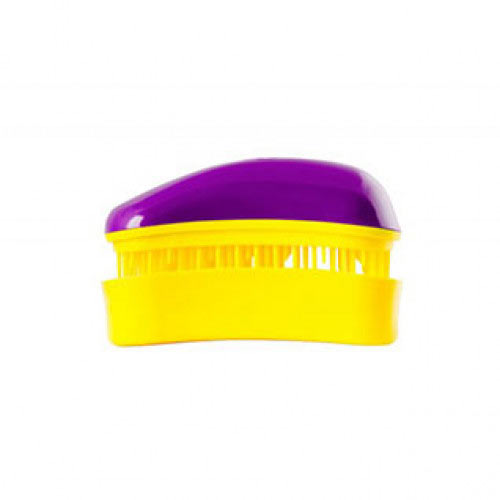 Мини четка за коса Dessata Mini Лилаво / Жълто