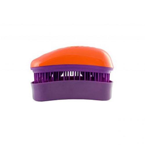 Мини четка за коса Dessata Mini Портокал / Лилаво