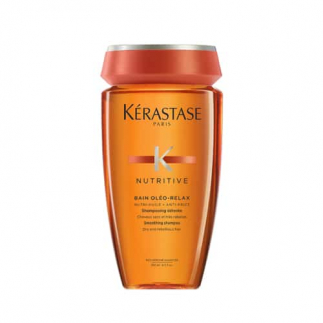 Изглаждащ шампоан за суха и непокорна коса 250 мл Kerastase Nutritive Bain Oleo Relax