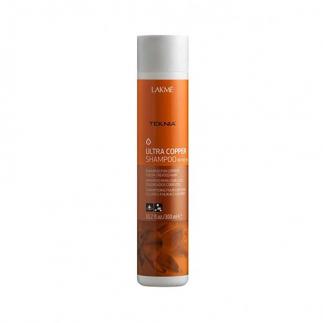 Оцветяващ шампоан за коса в медни тонове Lakme Ultra Copper 300 мл