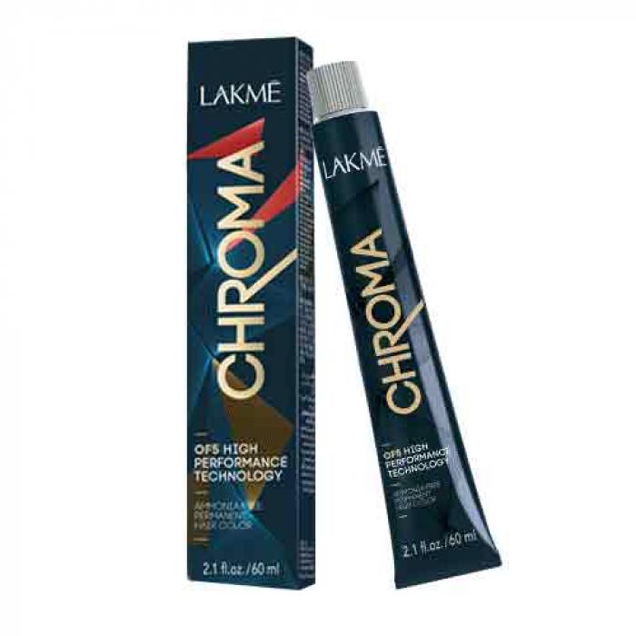 Безамонячна трайна боя за коса Lakme Chroma 60 мл