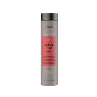 Оцветяващ шампоан за червена коса 300 мл Lakme Refresh Coral Red Shampoo