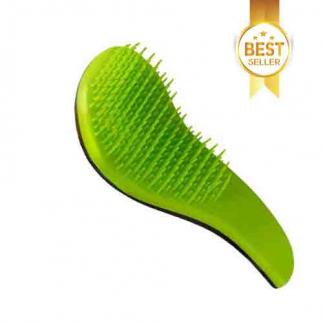 Зелена четка за разресване Macadamia No Tangle