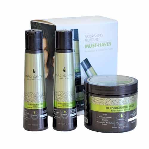 Комплект за нормална до плътна коса Macadamia Nourishing Moisture Must Haves