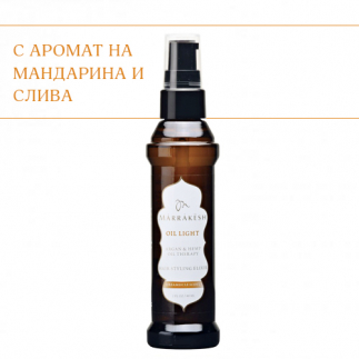Лек еликсир с конопено и арганово масло Marrakesh Oil Light Hair Styling Elixir Dreamsicle 60 мл