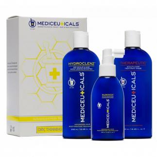 Уплътняващ комплект за стимулиране на растежа за суха коса Mediceuticals Advanced Hair Restoration Kit