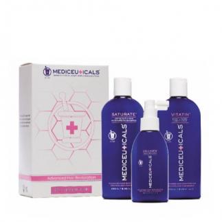 Комплект против косопад за жени за суха коса и скалп Mediceuticals Advanced Hair Restoration Kit