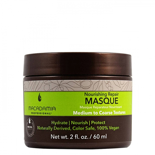 Маска за хидратация и възстановяване на средна до плътна коса 60 мл Macadamia Nourishing Repair