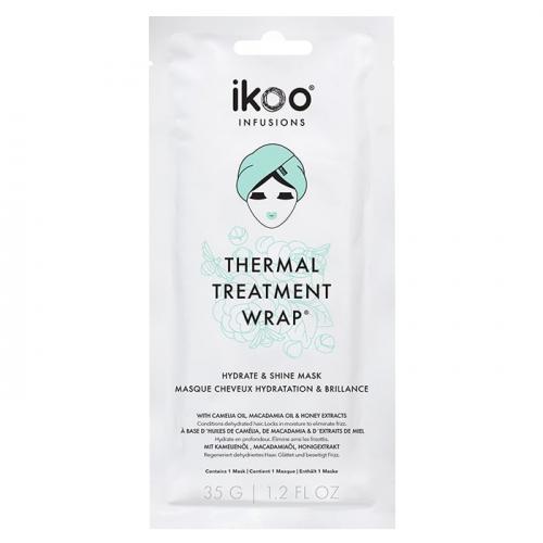 Маска шапка за хидратация и блясък на косата IKOO Thermal Treatment Wrap
