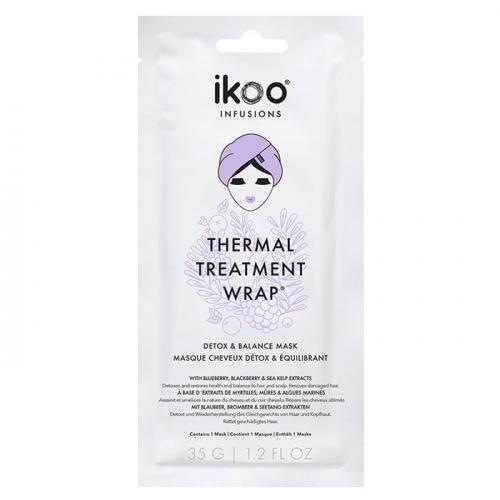 Маска шапка за детокс и успокоение на скалпа и косата IKOO Thermal Treatment Wrap