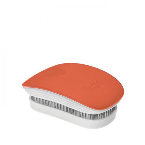 Компактна четка с капаче IKOO Orange Blossom Pocket (бяла основа)