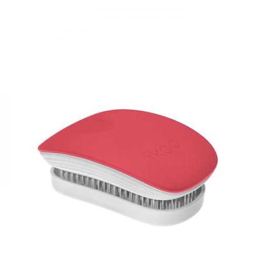 Компактна четка с капаче IKOO Fireball Pocket (бяла основа)
