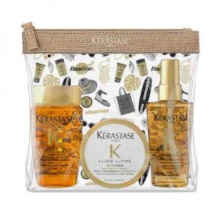 Комплект за път с ценни масла Kerastase Elixir Ultime Travel Set