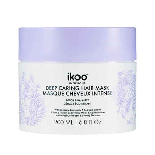 Детоксикираща маска IKOO Deep Caring Mask Detox and Balance 200 мл