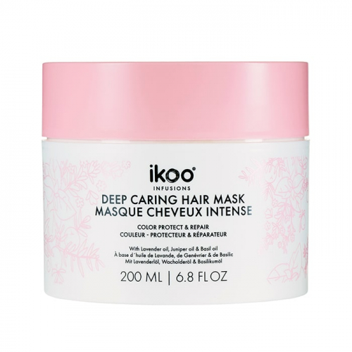 Маска за боядисана и изтощена коса 200 мл IKOO Deep Caring Mask Color Protect and Repair