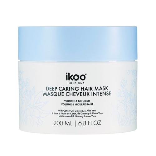 Маска за обем и подхранване 200 мл IKOO Deep Caring Mask Volume and Nourish
