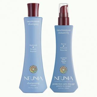 Дуо шампоан и термозащитен серум за хидратация NEUMA NeuMoisture