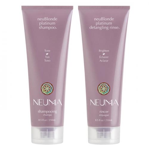 Комплект за тониране на руса коса NEUMA NeuBlonde Platinum