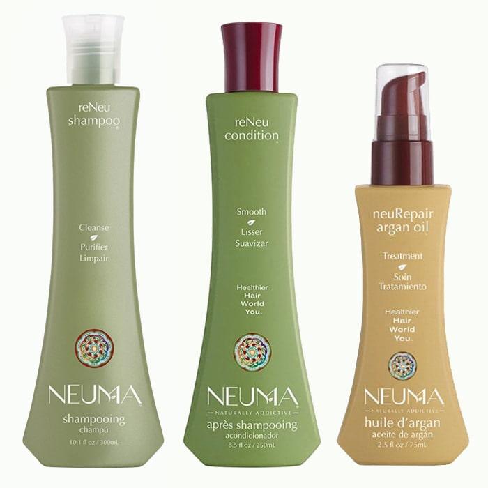Трио за рестарт и възстановяване на всеки тип коса NEUMA