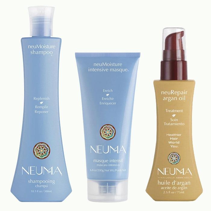 Трио за интензивна хидратация и възстановяване NEUMA