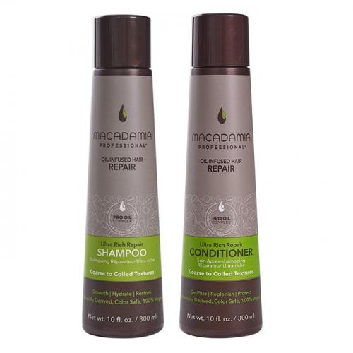 Дуо шампоан и балсам Macadamia Ultra Rich Repair за плътни коси