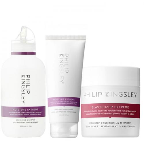 Трио за екстремна хидратация и терапия за възстановяване на много суха коса Philip Kingsley