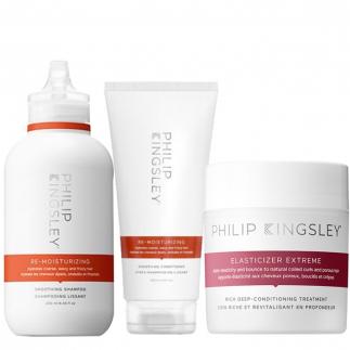 Комплект за дълбока хидратация и терапия за възстановяване на суха коса Philip Kingsley
