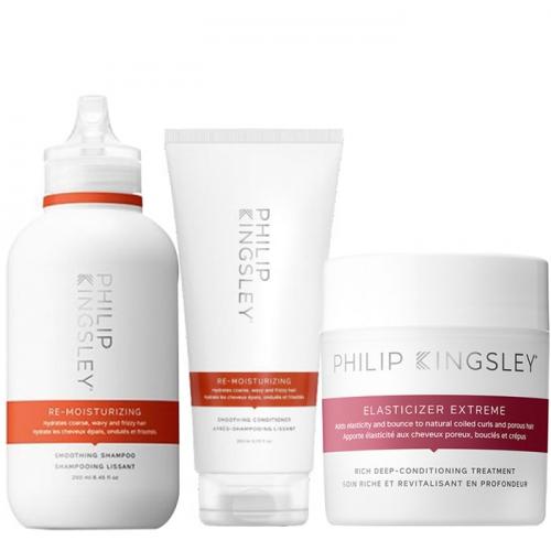 Трио за дълбока хидратация и терапия за възстановяване на суха коса Philip Kingsley