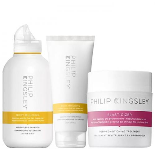 Трио за обем и терапия за възстановяване на тънка коса Philip Kingsley