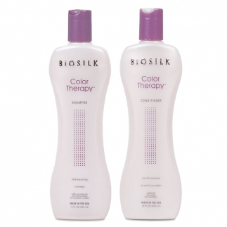 Комплект шампоан и балсам за боядисана коса BioSilk Color Therapy