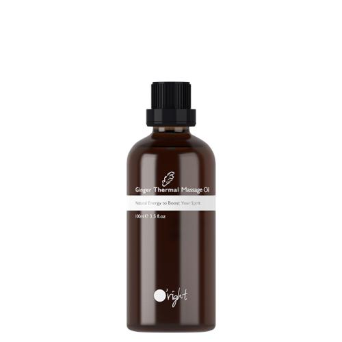 Загряващо масажно олио с джинджифил 100 мл Oright Ginger Thermal Massage Oil