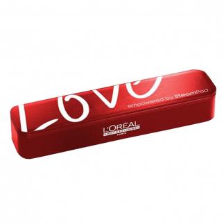 Лимитиран червен калъф за преса  Loreal Professionnel LOVЕ Case Steampod