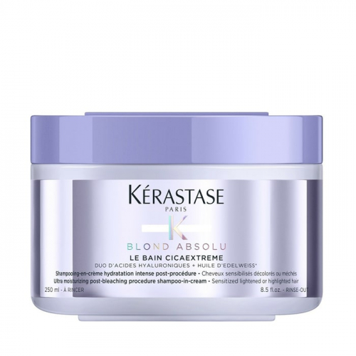 Крем-шампоан за интензивна хидратация след изсветляване 250 мл Kerastase Blond Absolu Cicaextreme