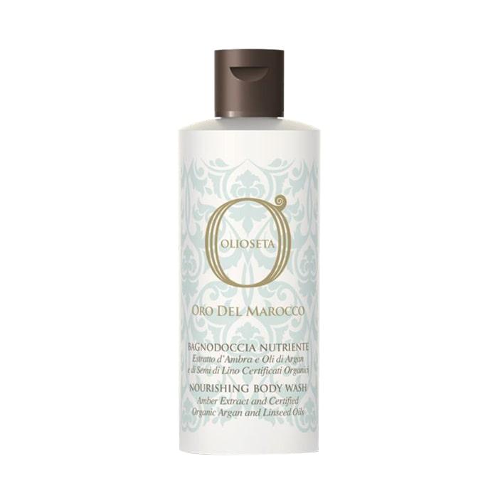 Подхранващ душ гел с арганово масло и екстракт от амбър 250 мл Olioseta Oro Del Marocco Nourishing Body Wash