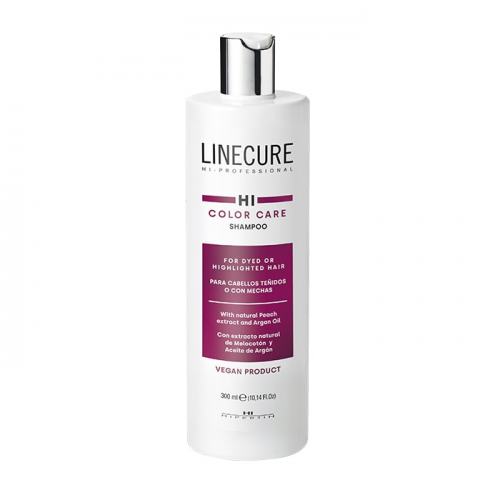 Шампоан за боядисана коса с арганLinecureColor Care Shampoo 300 мл